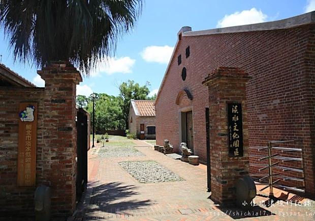 走一趟淡水文化園區,看見百年歷史的紅磚屋!