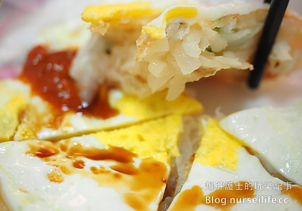 愛吃鬼限定的一級棒早餐!北投特色的蘿蔔絲蛋餅