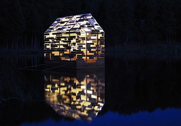 讓思緒於水上漂流,在Walden Raft湖中小屋裡垂釣一池的悠哉