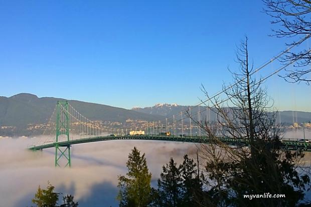 橋上風光盡收眼底!溫哥華5大美景橋樑巡禮