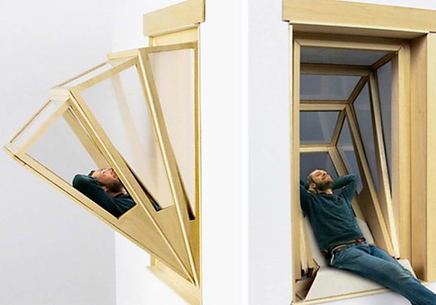 累了就躺上窗?專屬的「窗空間」 滿足你對窗戶的使用想像