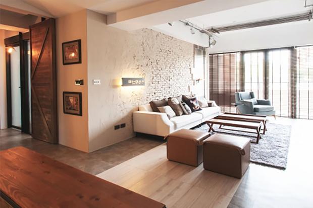 「家」也可以是最舒適的咖啡廳!咖啡香工業風公寓大變身