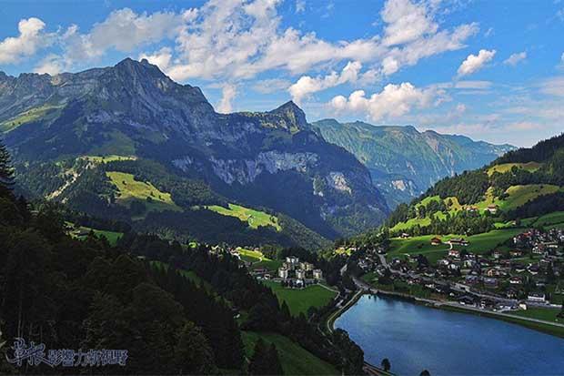 上帝的傑作!造訪美麗如畫的瑞士鐵力士山