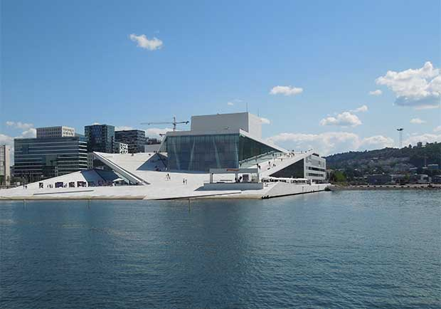 美學與創意的文化激盪!令人驚艷的挪威奧斯陸歌劇院