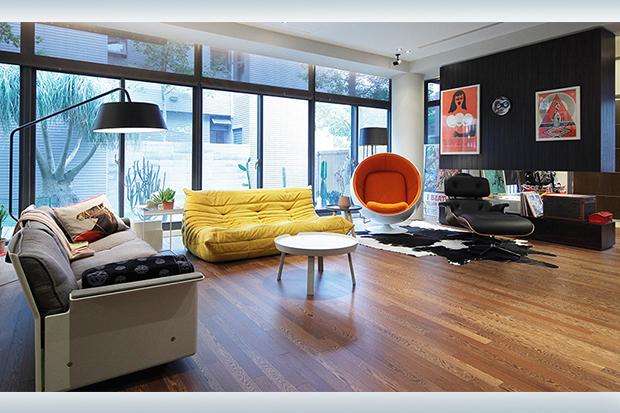 平面藝術的立體實踐!來看看這間療癒又舒適的度假屋