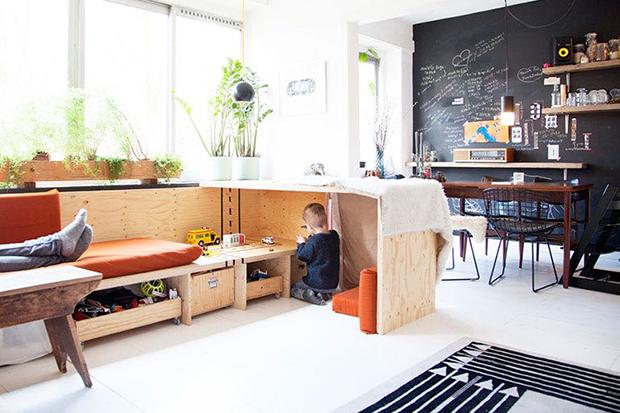 結合居家與工作的舒適屋!來看看設計師夫妻的家