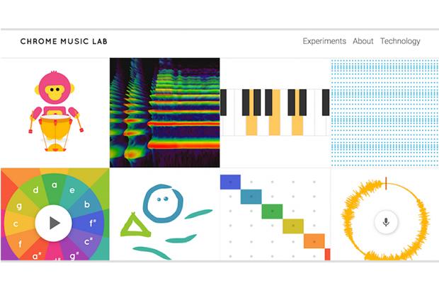 愛音樂的別錯過!Google Music Lab 在網頁上就可以玩音樂