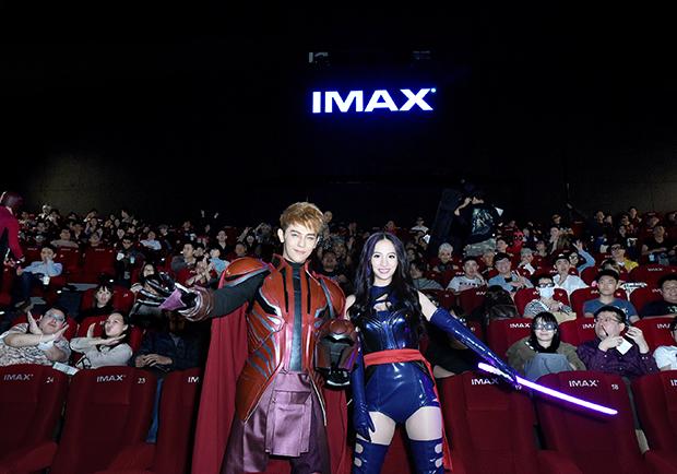 COSPLAY魂全開!全台變種人擠爆影城 為《X戰警:天啟》首映會朝聖