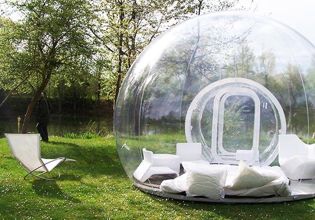 台灣也有水晶球帳篷!去享受一趟被浪漫包覆的夢幻露營吧