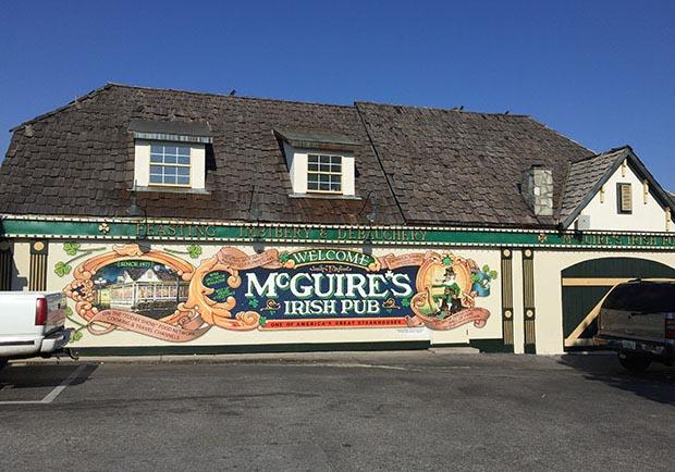 美金滿天飛!體驗另類的愛爾蘭餐廳