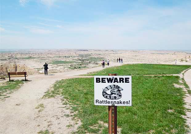 億萬年以上渾然天成的景色!南達科塔州惡地國家公園