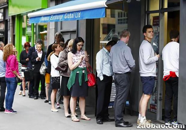 英國人對「留歐」沒信心?大量民眾擠兌外幣