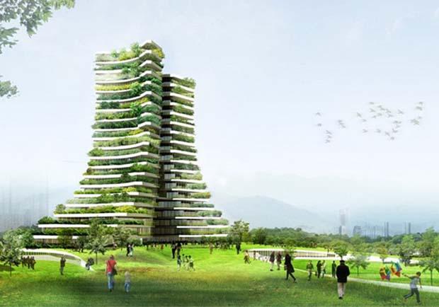 竹子是21世紀的新鋼鐵!越南建築師打造綠色市政廳