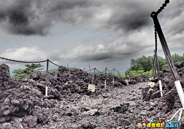 到日本岩手,親身感受火山爆發後的大地自然之景