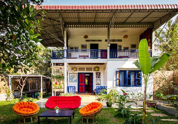 讓地中海風情融入柬式生活!造訪義大利建築師的家