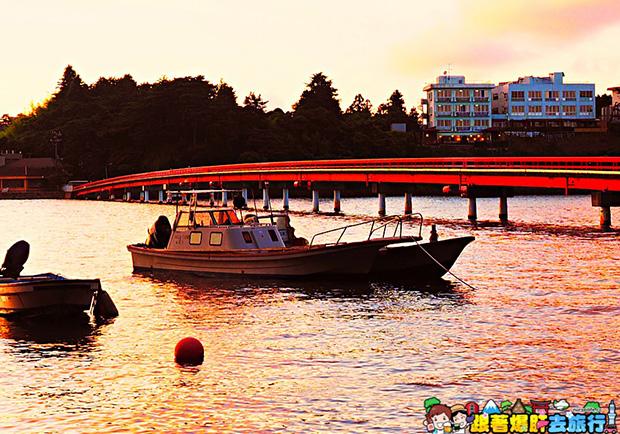 夕陽下漫步島嶼美景,一覽日本松島無限風光!