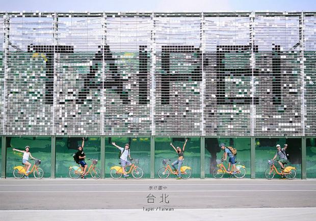 台北好好玩之旅!騎UBIKE串聯台北20個景點