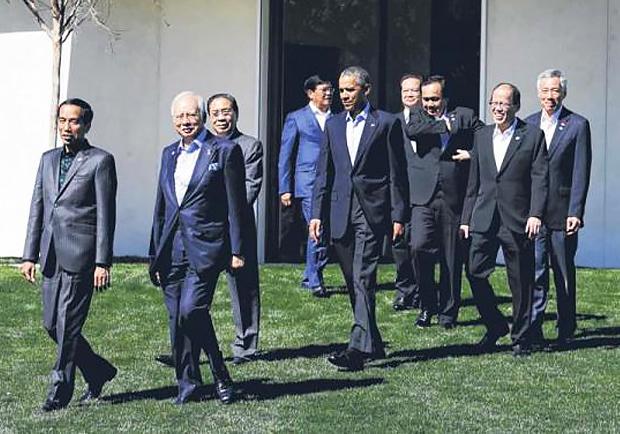 東盟峰會聚焦南海爭端!歐巴馬批評中國在南海手段強硬