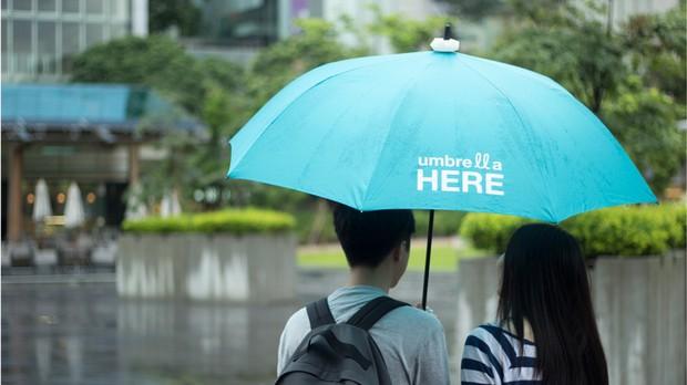 你為陌生人撐過傘嗎?這世界需要更多溫暖!