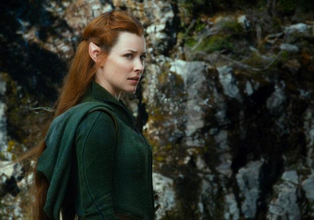 《哈比人:荒谷惡龍》中文版預告,精靈女戰士陶烈兒吸睛