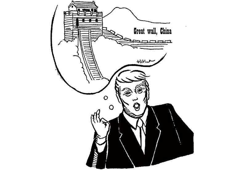 川普想蓋美國長城?簡單有效的政治語言