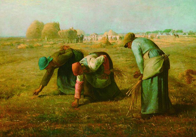 窮人只能撿碎穗!米勒的《拾穗》描繪殘酷的階級差距