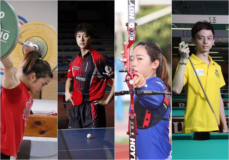 9選手爭冠、7大賽事 追星觀戰看過來