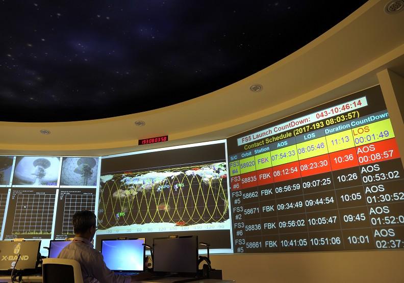 第一枚「最台」高解析衛星 福衛五號8月升空