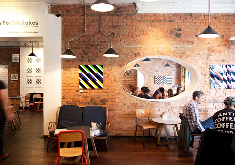 倫敦文青指標咖啡店 The Book Club