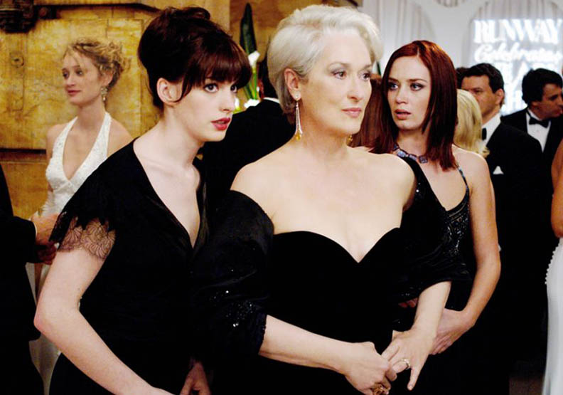 《穿著Prada的惡魔》刪減片段揭露女魔頭米蘭達不安一刻