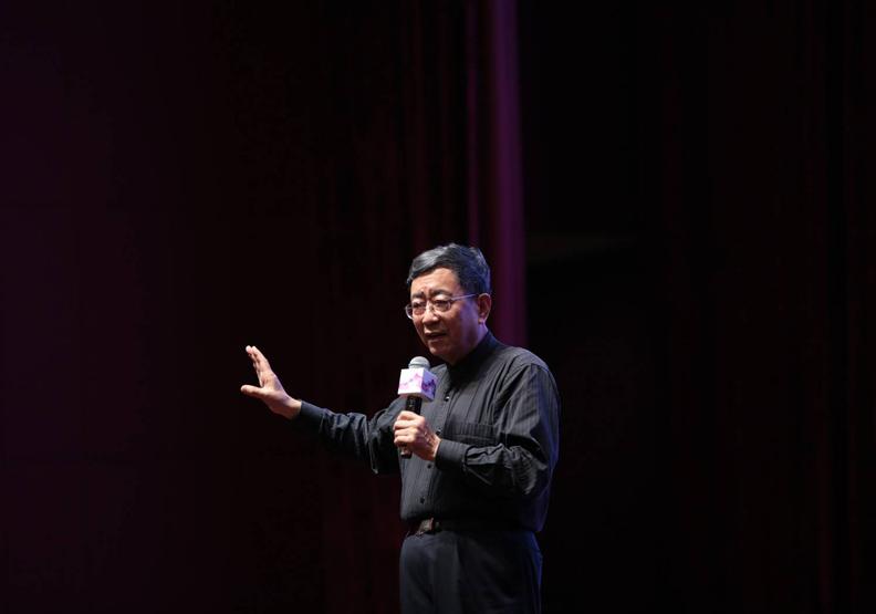 文學大師余秋雨:文化沒有海峽,創意沒有邊界
