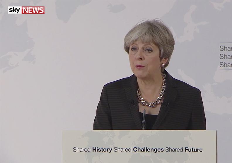 英國首相梅伊最新脫歐演講 有哪三大重點?