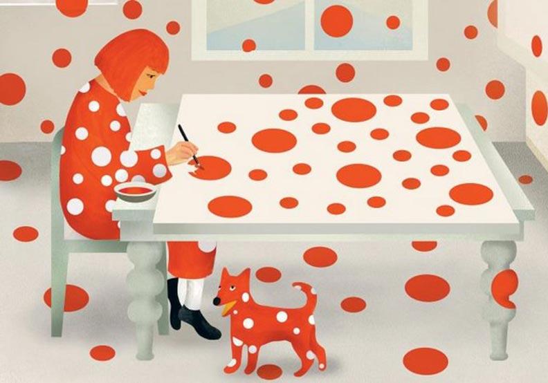 連大人都想看!MoMA出版史上第一本草間彌生童書繪本!