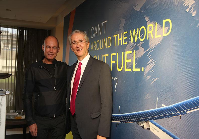 他駕太陽能飛機環球 實踐零耗能「療癒地球」