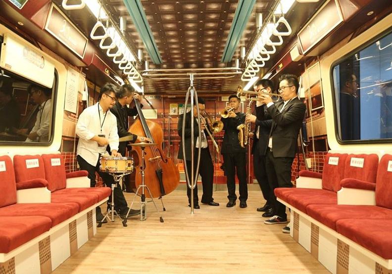 繼世大運後 捷運車廂變身行動音樂廳!