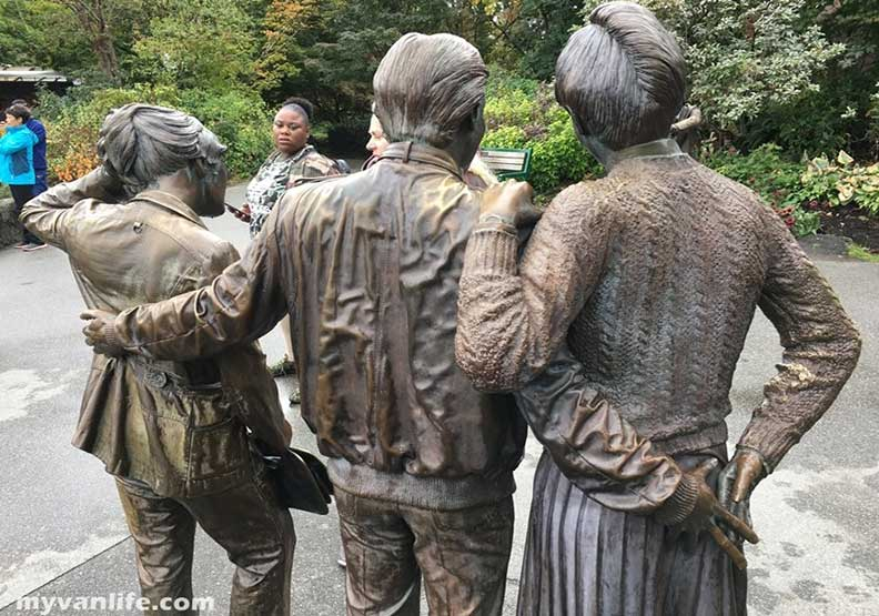 溫哥華行旅 女王公園裡永恆的背叛