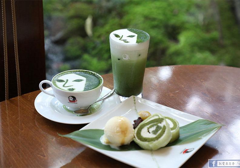 京都嵐山品嚐賞心悅目的藝伎抹茶甜點
