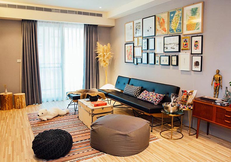 旅遊也要搜集特色家具—高雄 Talia 的家