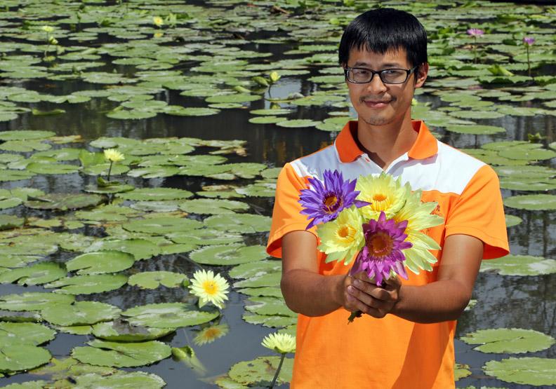 香水蓮花 打造幸福農業