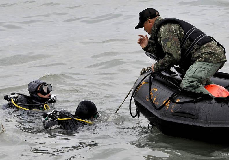 不是選擇而是必須 世越號事件潛水員之聲