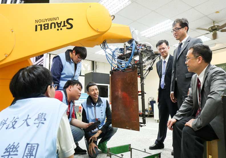 明新科大成立「智慧自動化產學技術聯盟」 成智慧製造新力量