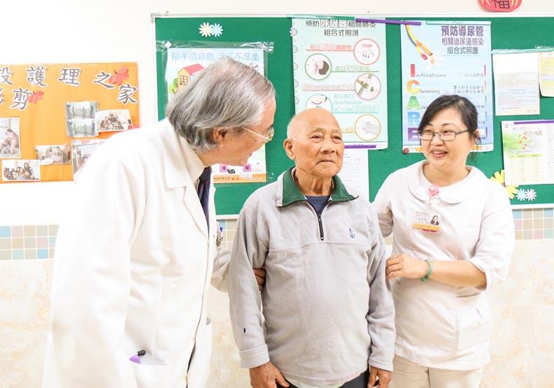 「醫院為中心.長照機構為衛星」的完整老人醫療照護服務網
