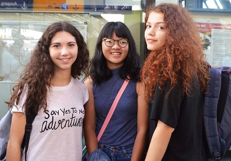 國際學生交換 讓孩子高中就去看世界