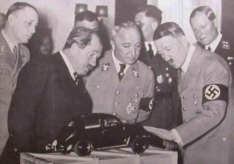 希特勒下令 保時捷創辦人設計金龜車