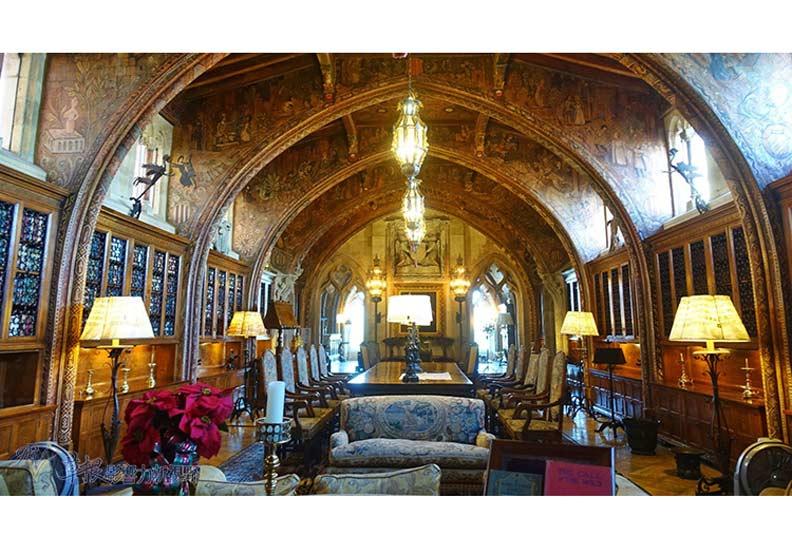 繁華富麗的加州赫氏城堡