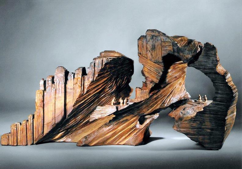木藝師游禮海 從山水中尋找靈感