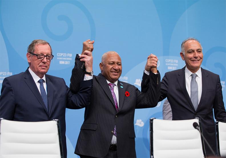 Bula! Bonn! 新一輪氣候談判在波昂展開,「島國」話題成焦點