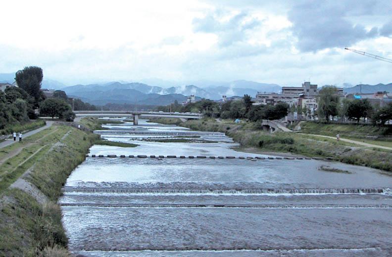 失去生命律動的京都鴨川,其實很醜!