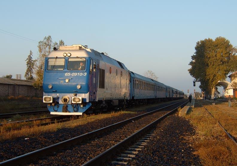 羅馬尼亞的火車 不斷把人帶回過去