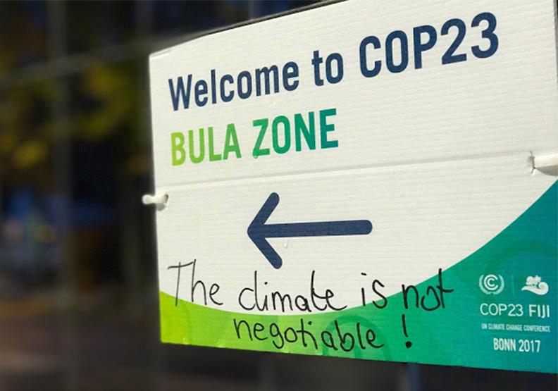 COP23長怎樣?波昂會議第一週圖輯